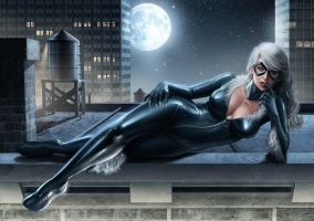 Black Cat by ChekydotStudio