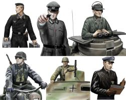 German soldiers by dashinvaine