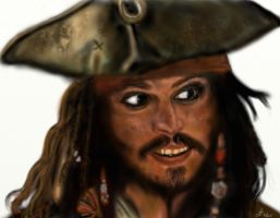 Jack Sparrow by Saryetta86