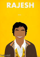 The Big Bang Theory - Rajesh by BantamArt