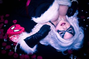 Valentines Black Cat Cosplay by AlyChuCosplay