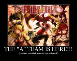 Fairy Tail Team by LaMont-Naruto16
