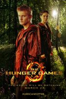 Cato and Clove - The Hunger Games Poster by hurricaneoffire