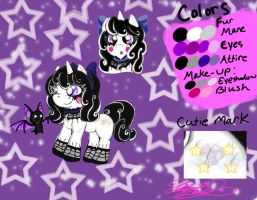 MLP OCs: Moonlight Wishes + Estrella the Bat by XxMoonlight-1-WishxX