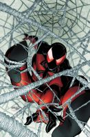 Scarlet Spider 1 cover by RyanStegman