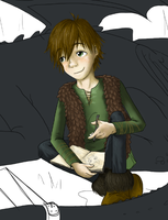 Hiccup - Thumbnail by sapphiresky1410