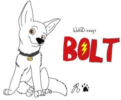 Bolt by ArtBeginsHere