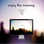 Enjoy the morning by 9dZign