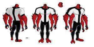 Ben 10 FourArms design by Devilpig