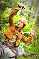 SNK cosplay - Revenge of Jean by darknaito