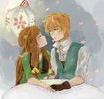 The First Kiss by NeenBing