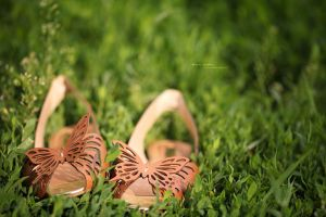 Butterfly shoes by Gulfiya