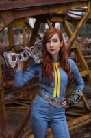 Fallout 3 - Vault Dweller by atomic-cocktail