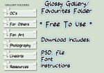 Glossy Gallery Folder Pack *FREE* by AnnaLena250199