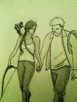 starcrossed lovers from district 12 by Marissa-Emily