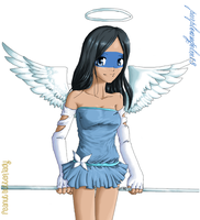 . mini-angel . by sporkful-of-hearts