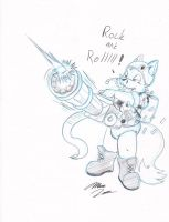 Rock and Rolllllllll - Marc by KennyKitsune