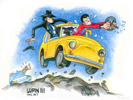 Lupin-III fan art by Masha-Ko