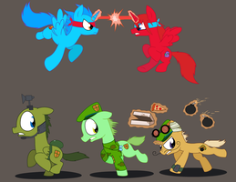 Happy Tree Friends MLPFIM ponies 4 by Pupster0071