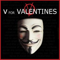 V for Valentines by thedrummerboii