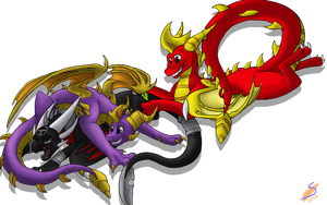 Takle the Cynder by safirethedragon