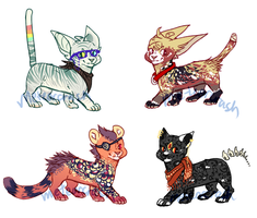 Pretty Kitties (CLOSED: by meteorcrash