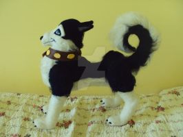 Balto 's Steele plush felted doll by Phoenixwingcreations