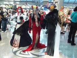 Adel, Ultimecia and Edea from Final Fantasy VII by trivto
