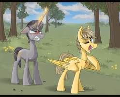Cy and Fis by MyMineAwesome