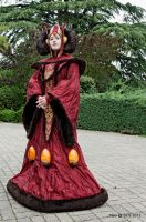 Queen Amidala ~ Queen at Theed's Garden by Kaori-prod