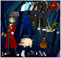 Little Harry Porter Dress up Game by willbeyou