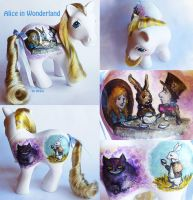 Alice in Wonderland pony by Ardid-Art