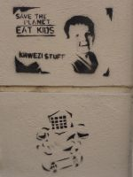 Save the planet -  Eat Kids by Ericmaniac