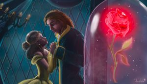 Beauty and the Beast by Art-Chocolate