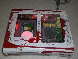 Left4Dead Themed Xbox360 by FatalJapan