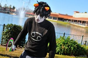 Karkat: Be A Fearless Leader by TeamBrando