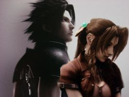 Zack and Aerith by ZaCkFaIr15
