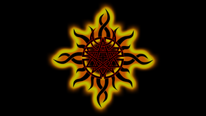 Godsmack and Disturbed Fire Wallpaper by MisaryAshes