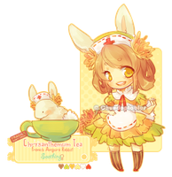 :NEMU: Chrysanthemum Tea Angora Rabbit [OPEN] by Chuuchichu