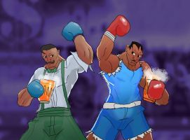 Get Hype! Dudley Balrog  Party Promo Art by RossC90