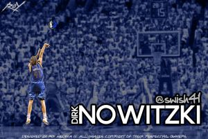 Dirk Nowitzki by Roy03x