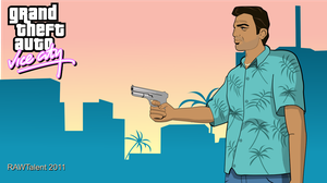 Tommy Vercetti Vice City Style Artwork by RAWTalent93