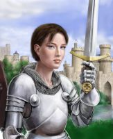 Joan of Arc revisited wip by dashinvaine