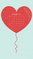 February 2016 Wallpaper (Small) by apparate