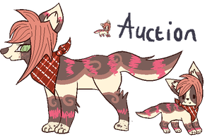 Dog Auction-SOLD by xLunar-Flarex