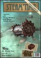 Steam-Time steampunk magazine by Mogura-no-kanji