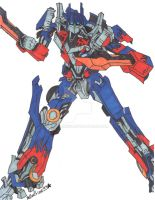 Optimus Prime for david12345re by BeePrime93