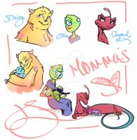 Monsters Inc Moms by J-Spence