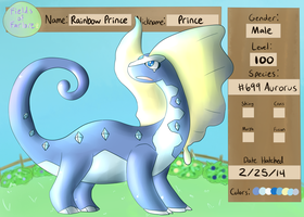 PKMNation: Rainbow Prince by Super-Liet