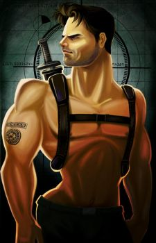 Chris Redfield by marcocano